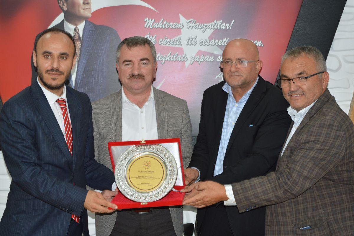 Esenyurt İl Dernekler Birliğinden Başkan Özdemir'e Ziyaret