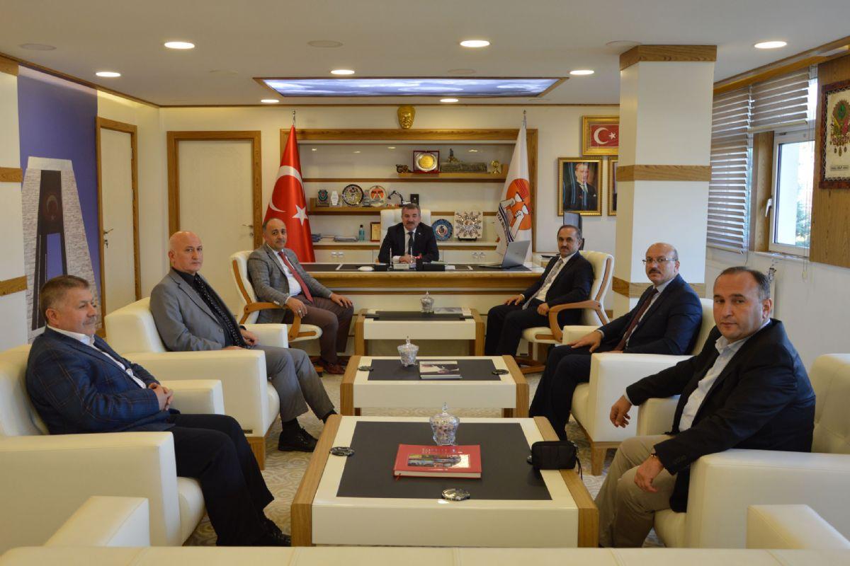 Kasapoğlu'dan Özdemir'e Ziyaret