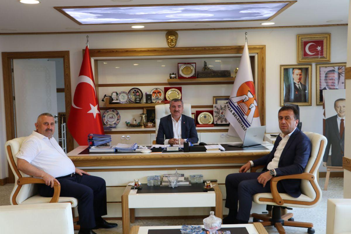 SASKİ Genel Müdürü Yanık'dan Başkan Özdemir'e Ziyaret