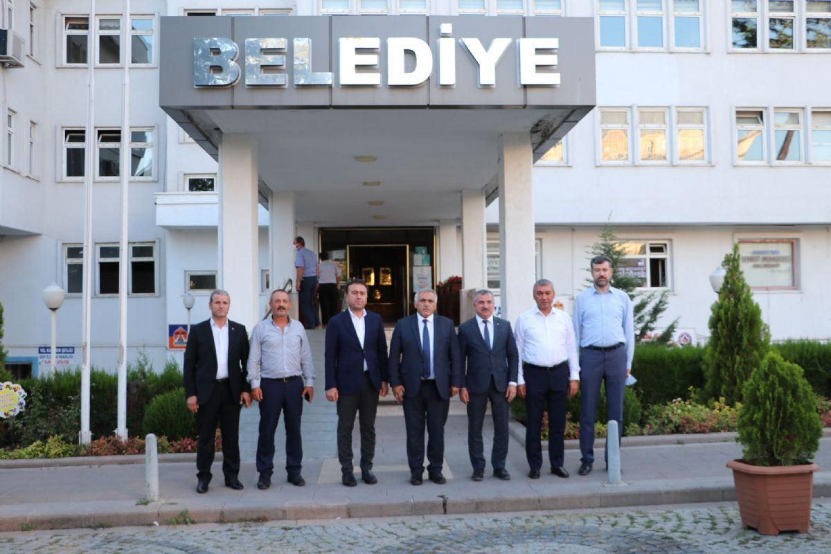 Ak Parti Genel Merkez Yerel Yönetimler Başkan Yardımcısı İnci'den Havza Belediyesine Ziyareti