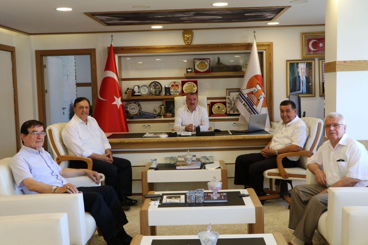 Balkan Türkleri Konfederasyonu Kurucu Genel Başkan Yardımcısı Altuntaş'dan Başkan Özdemir'e Ziyaret
