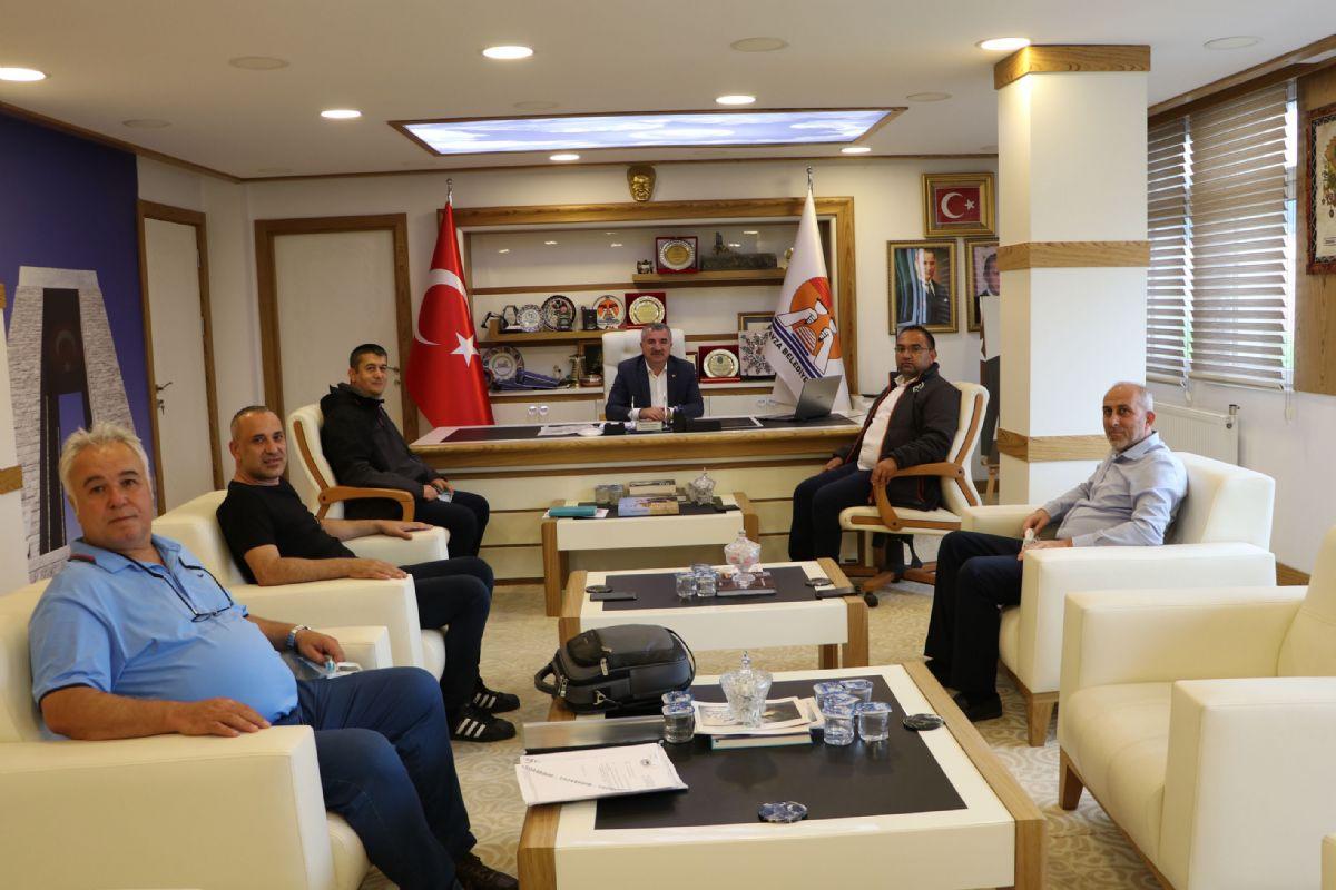 Dsi Heyetinden Havza Belediye Başkanı Özdemir'e Ziyaret