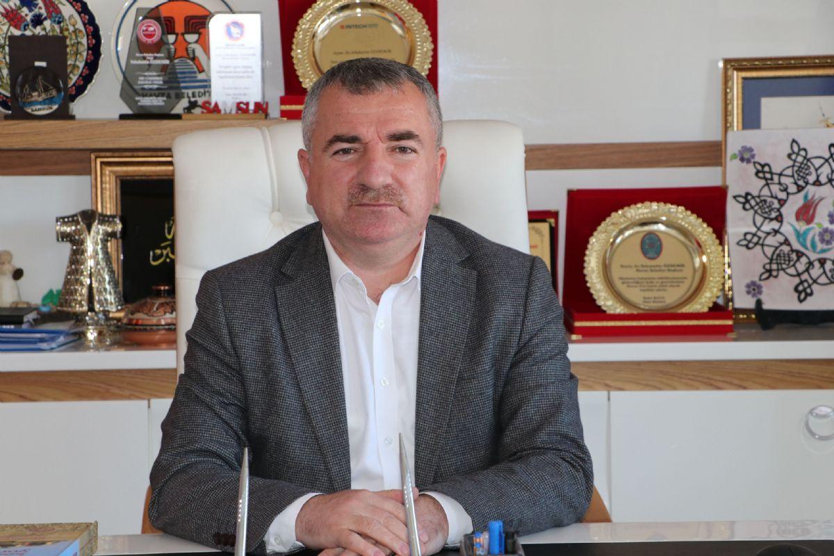 """Havza Belediye Başkanı Özdemir; """" 2023, 2053 ve 2071 Hedeflerimize Doğru Azim, Gayret ve Kararlılıkla Yürümeye Devam Edeceğiz. """""""