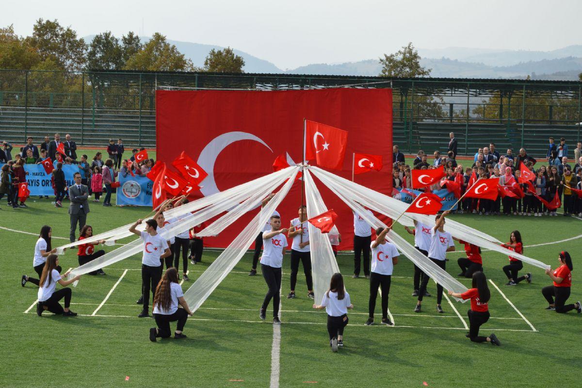 29 Ekim Cumhuryet Bayramı Kutlandı