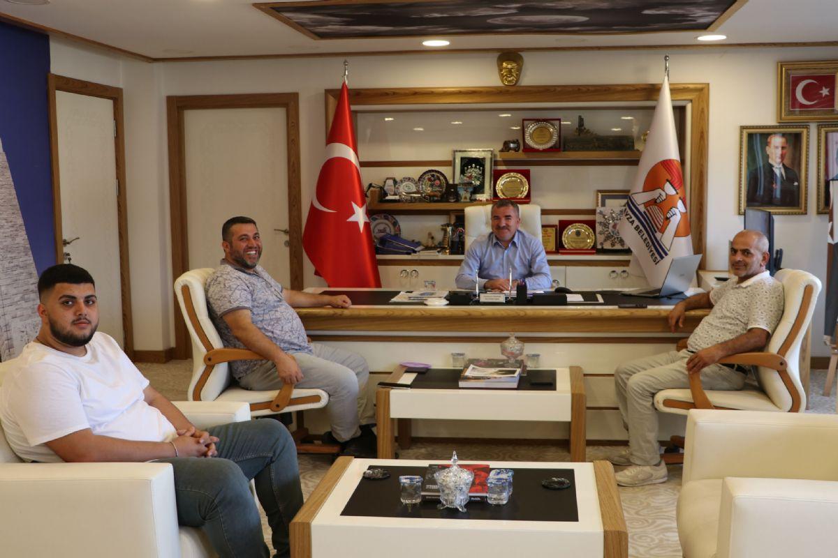 Yatırımcı İş İnsanı Turhan'dan Başkan Özdemir'e Ziyaret