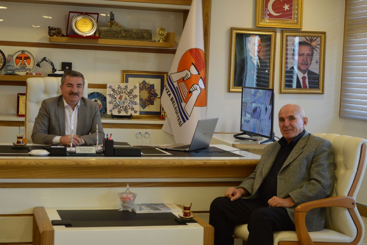 Havza Belediye Başkanı Özdemir'e Ziyaret