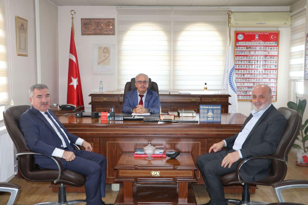 Havza Belediye Başkanı Özdemir İlçe Müftülüğünü Ziyaret Etti