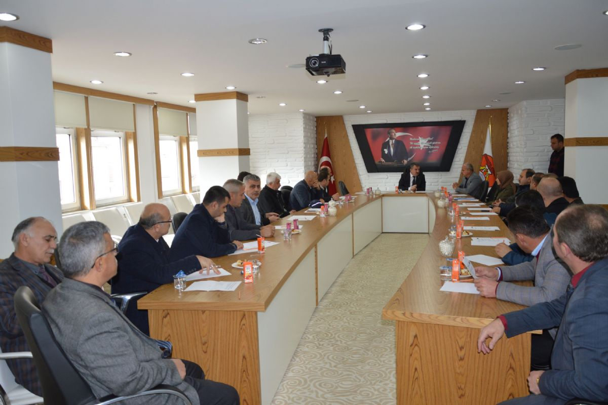 Havza Yerel Eylem Grubu Derneği Genel Kurulu Yapıldı