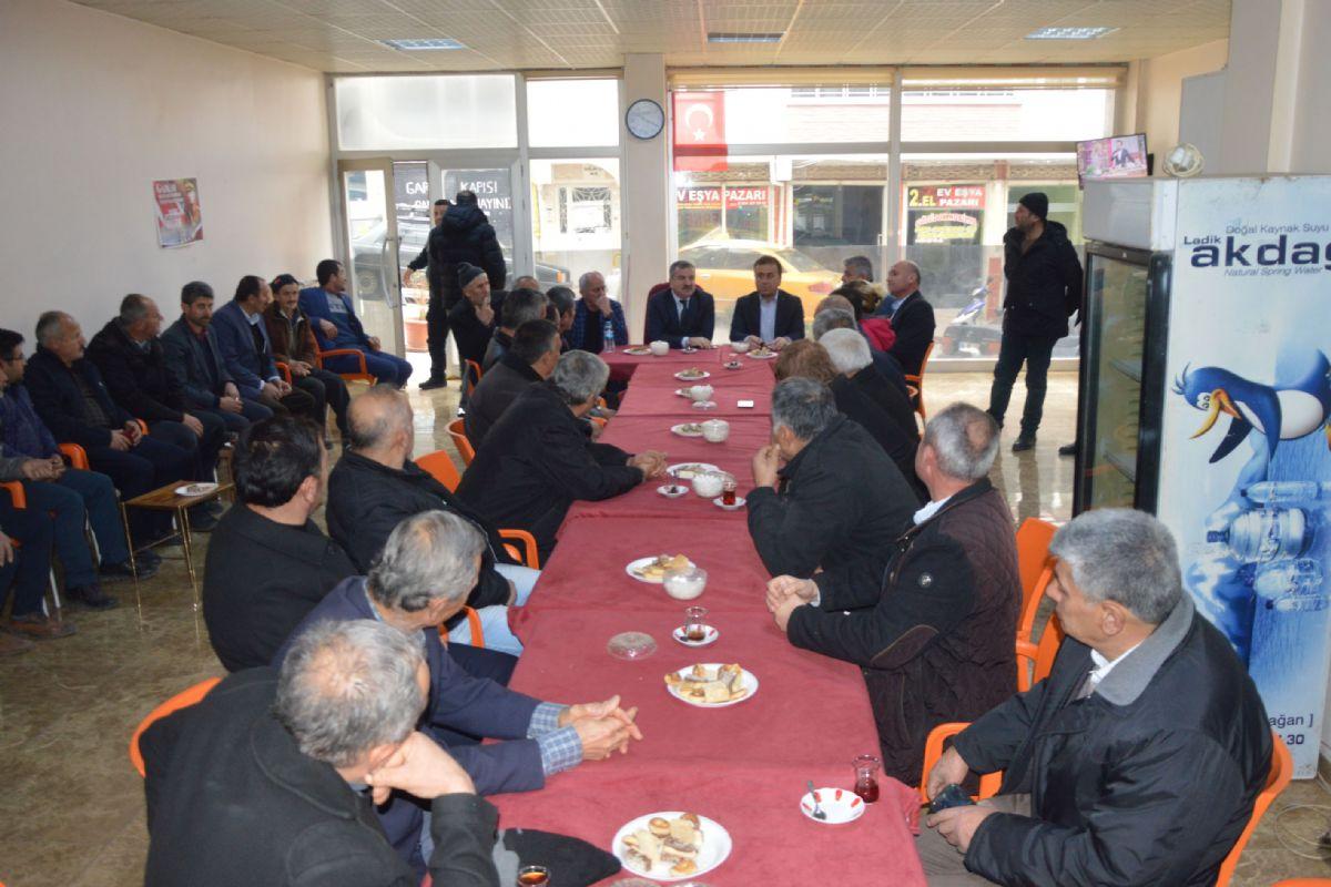 Başkan Özdemir Muhtarlar Toplantısına Katıldı