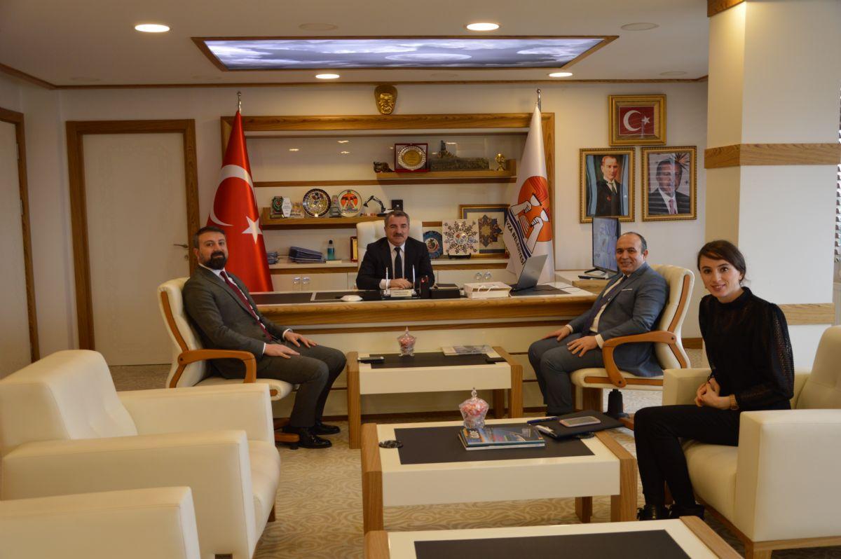 Medicana'dan Başkan Özdemir'e Ziyaret
