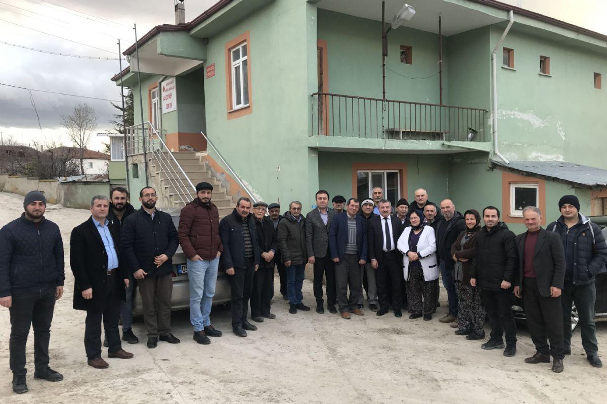 Başkan Özdemir'den Kırsal Mahalle Ziyareti
