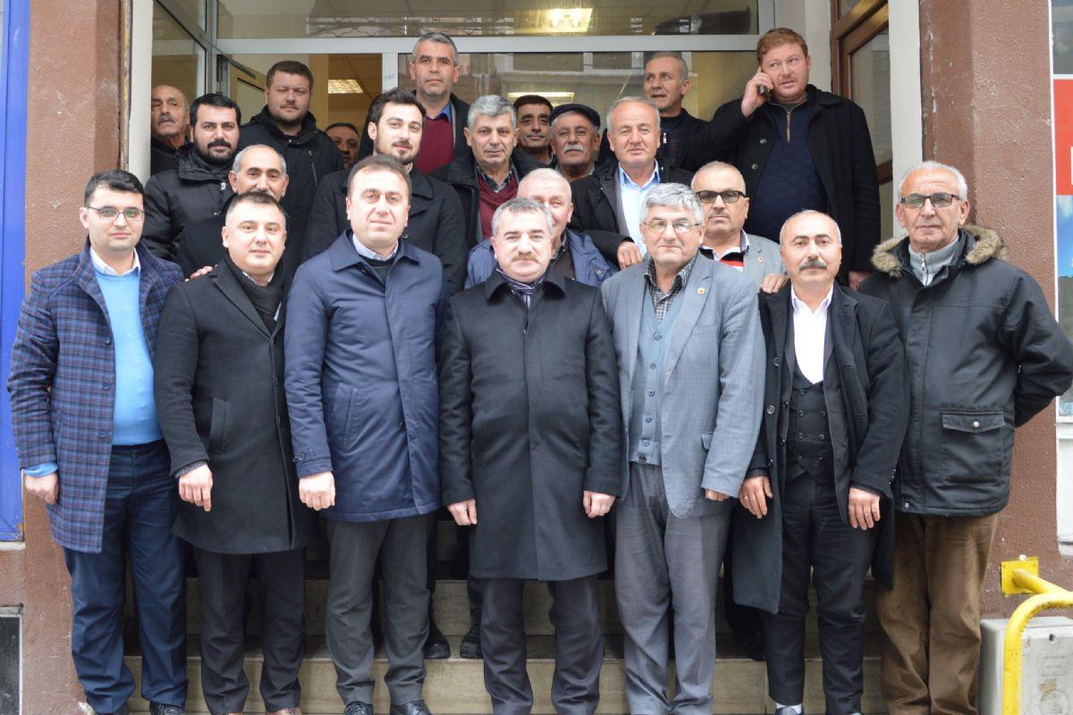 Başkan Özdemir Muhtarlar ile Bir Araya Geldi