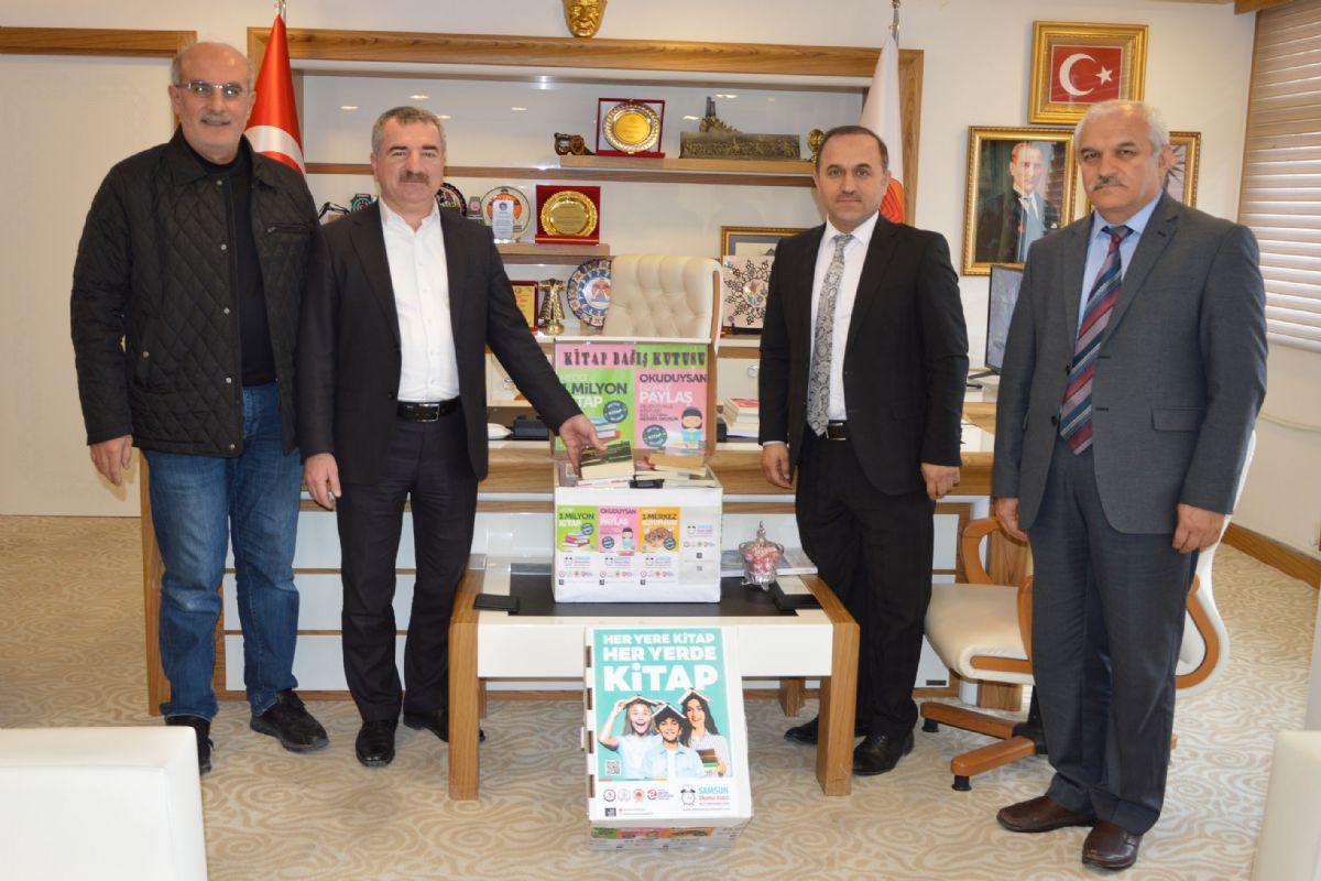 Havza Belediyesinden Kitap Bağışı