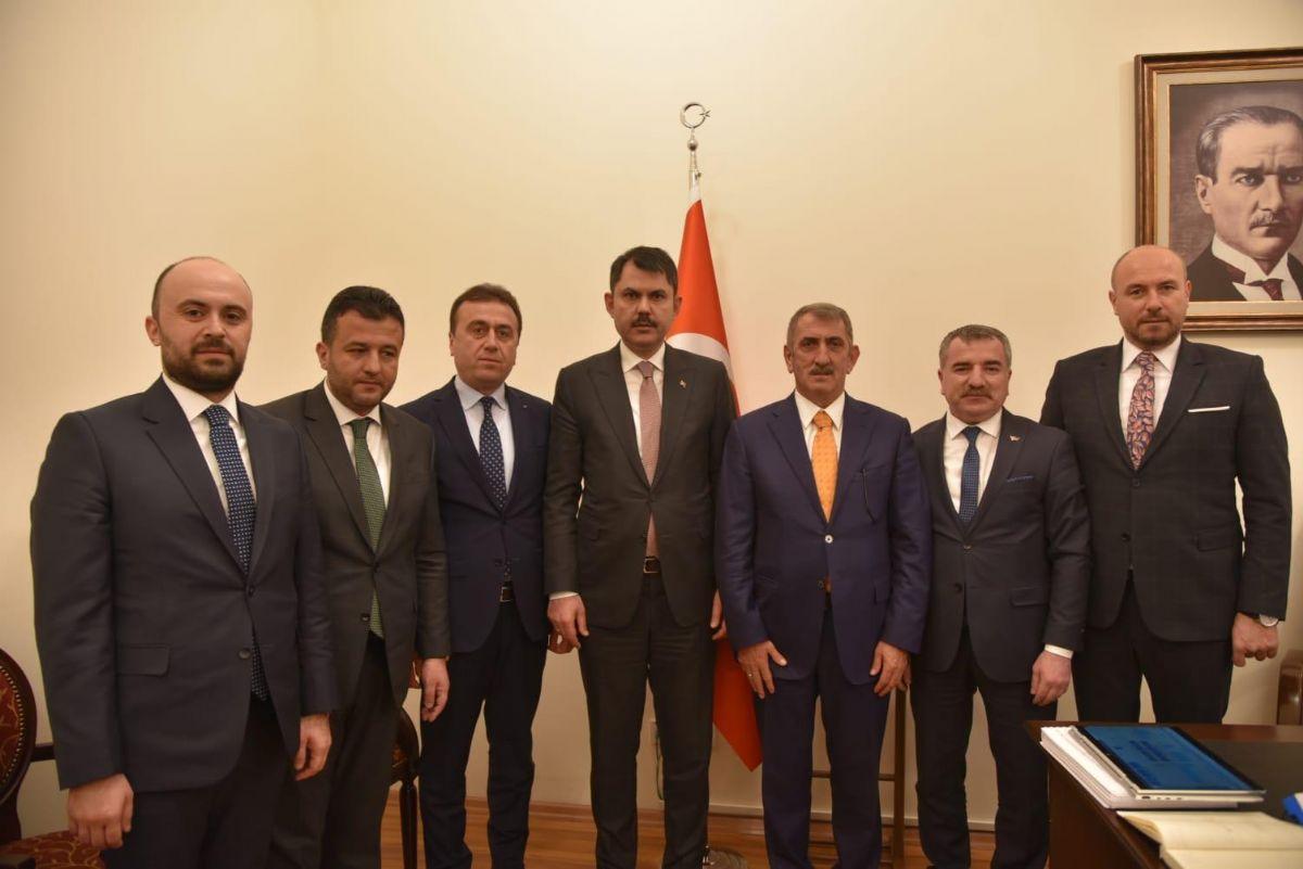 Başkan Özdemir'den Ankara Ziyareti