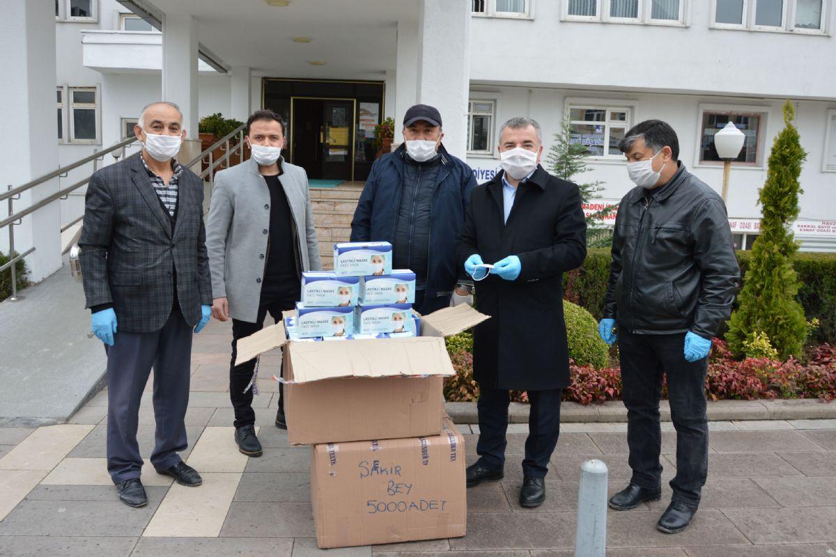 Hayırsever İşadamından Havza Belediyesine 4 Bin Maske