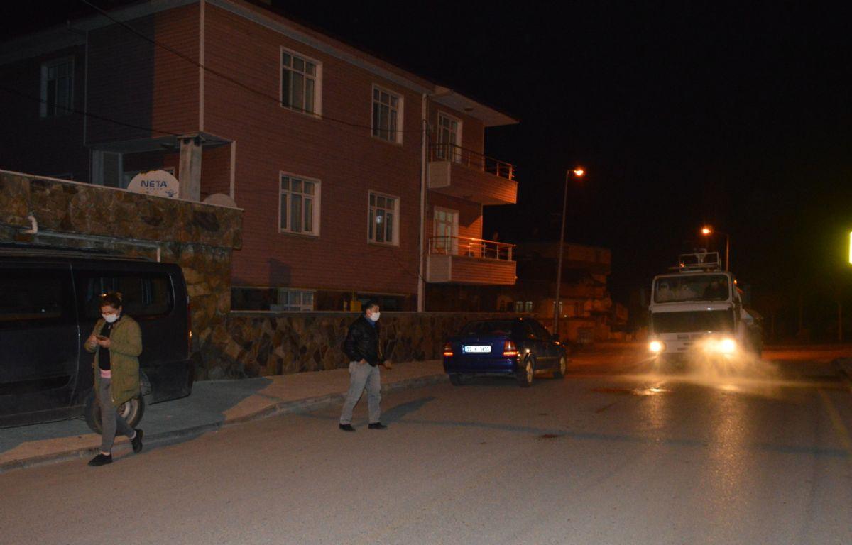 Karşıyaka Mahallesinde Dezenfeksiyon Çalışmaları