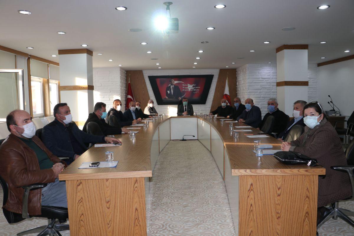 Havza Belediyesi Meclisi 2021 Yılı İlk Toplantısı Yapıldı