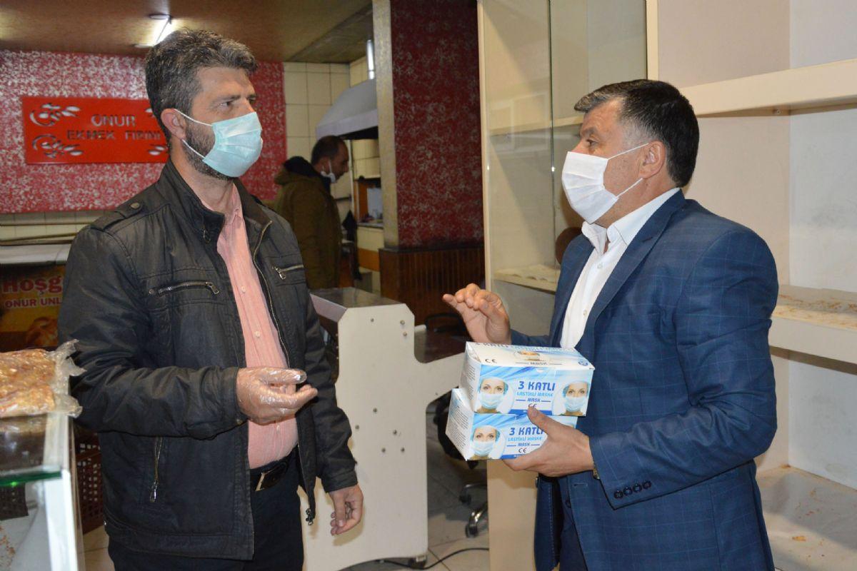 Havza Belediyesinden Fırınlara Maske