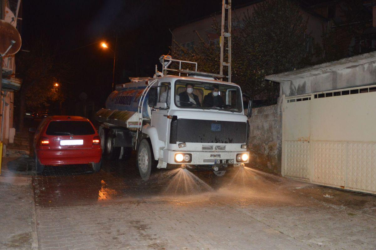 Yeni Mahalle ve Sondaj Mahallelerinde Dezenfeksiyon Çalışmaları