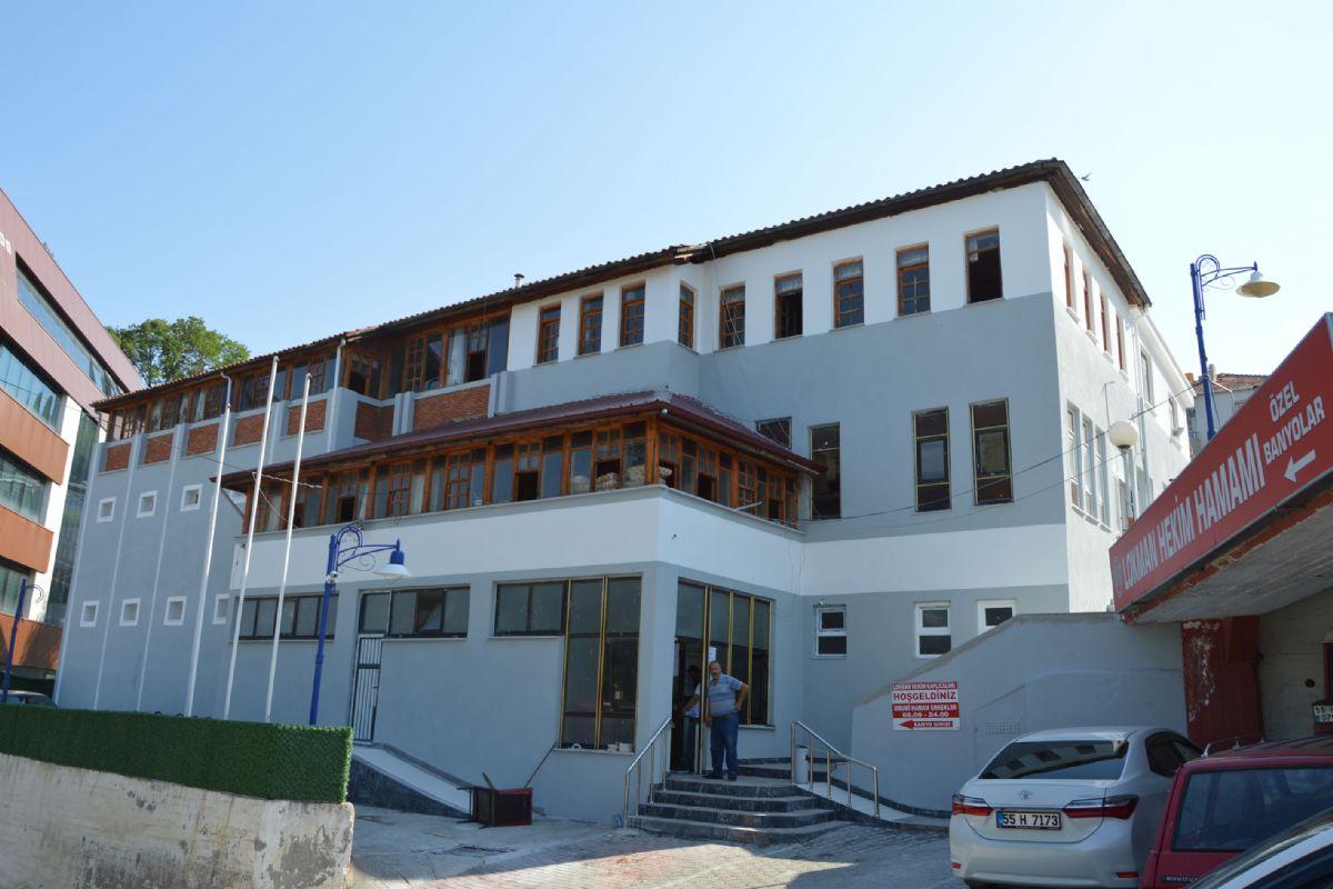 Havza'da Lokman Hekim Yeniden Şifa Dağıtmaya Başladı