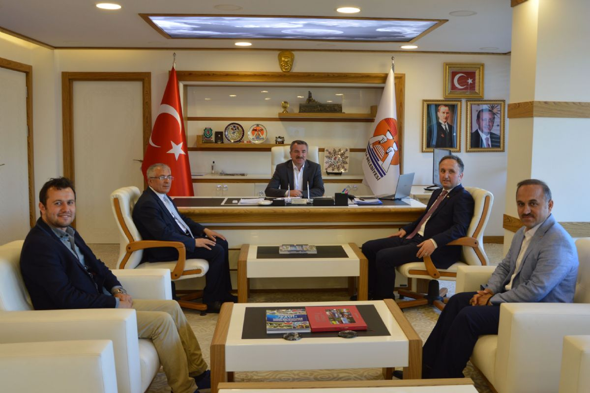 Havza Belediye Başkanı Sebahattin Özdemir'e Ziyaretler