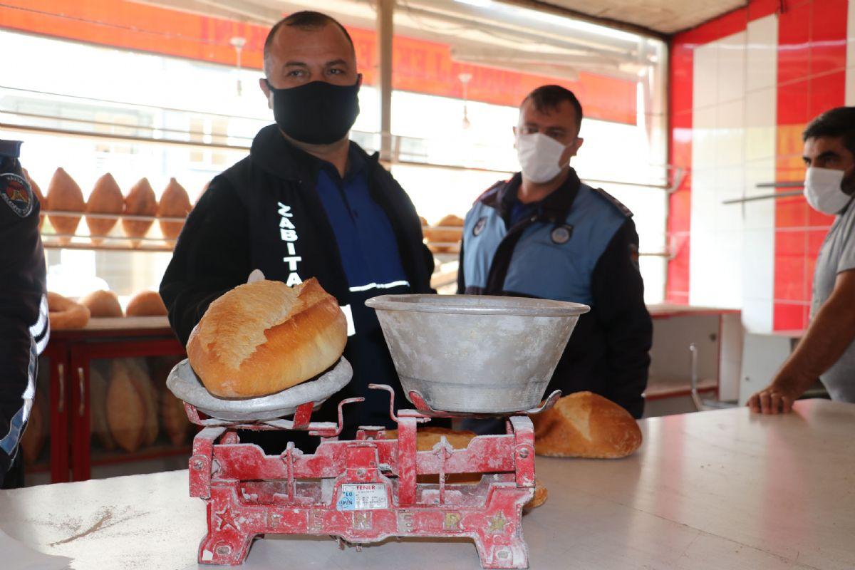 Havza'da Zabıta Ekmek Fırınlarına Denetledi