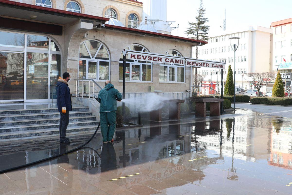Havza Belediyesinden Bahar Temizliği
