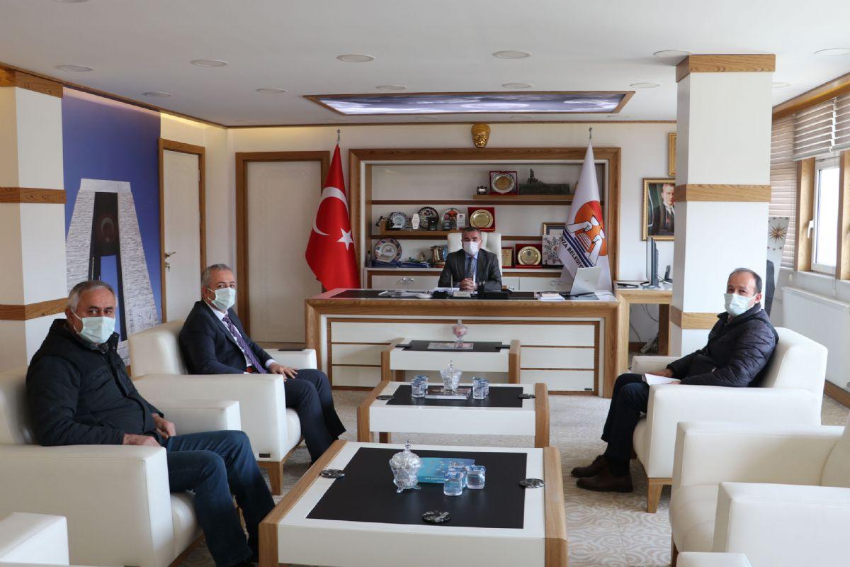 Vakıflar Bölge Müdüründen Havza Belediye Başkanı Özdemir'e Ziyaret