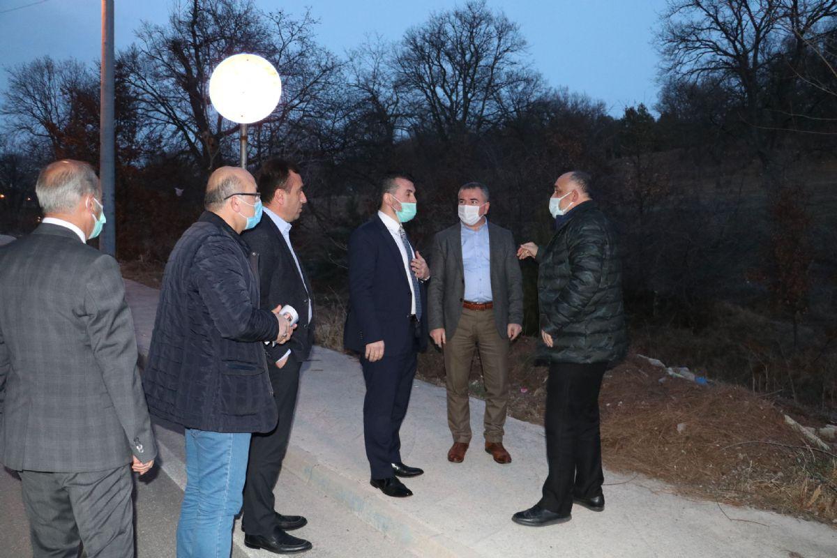 Daire Başkanı Çebi'den Havza'ya Ziyaret