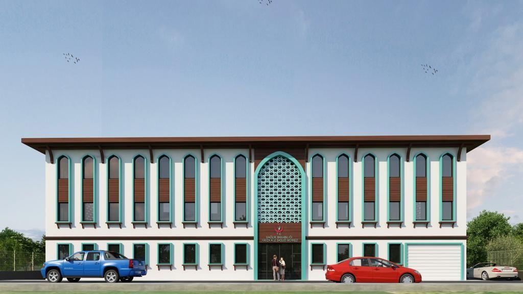 Havza'da Yeni Sağlık Hizmet Binası İnşaatı Başladı