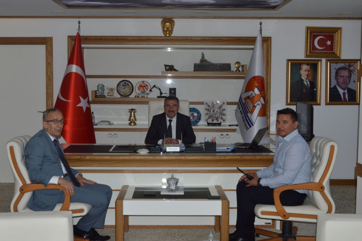 Emniyet Müdürü Vedat Yavuz Başkan Özdemir'i Ziyaret Etti