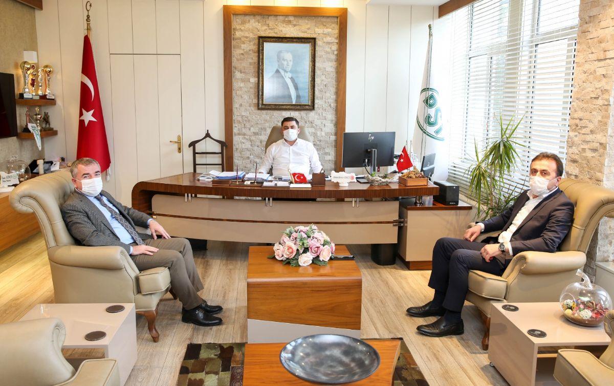 Özdemir ve Kayan'dan Dsi 7. Bölge Müdürü Gökçe'e Ziyaret
