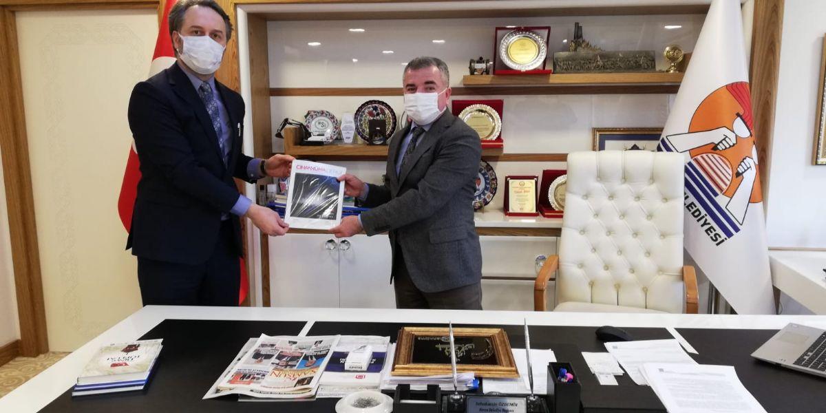 Cihannüma Derneği'nden Başkan Özdemir'e Ziyaret