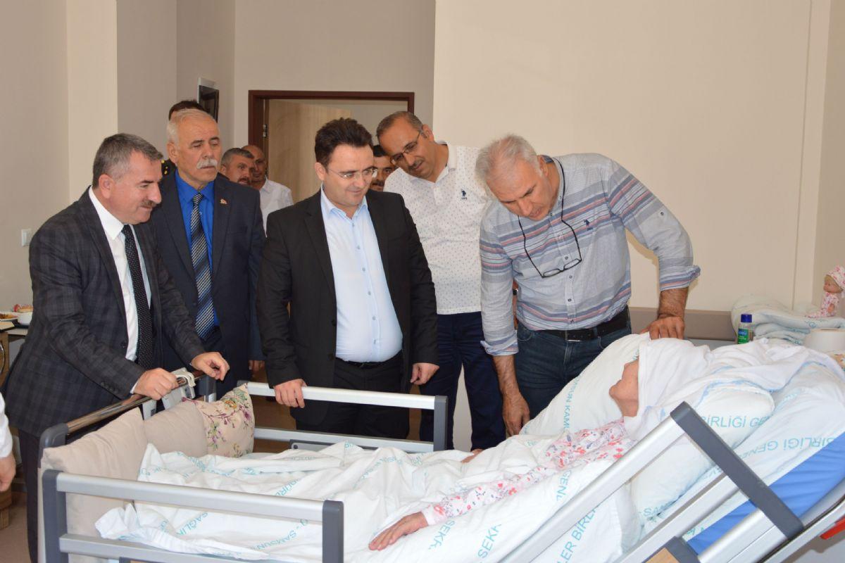 Havza ilçesinde Kurban Bayramı nedeniyle protokol üyeleri ve vatandaşlar bayramlaştı.