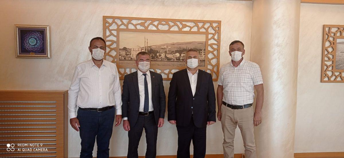 Başkan Özdemir'den Saski Genel Müdürü Yanık'a Ziyaret