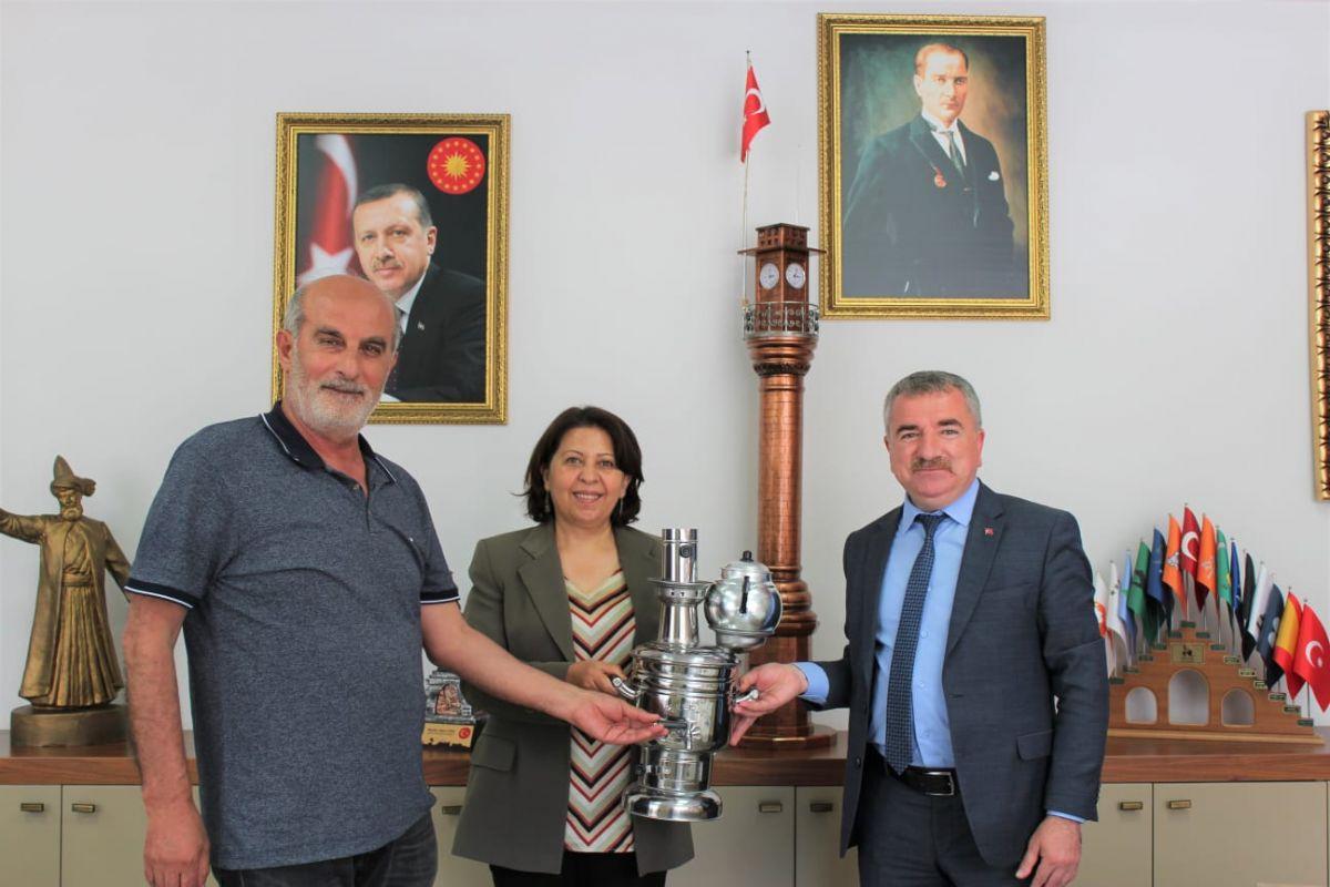 Havza Belediye Başkanı Özdemir'den Ladik Ziyareti