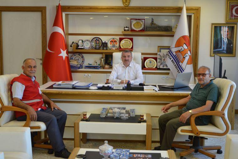 Kızılay'dan Başkan Özdemir'e Ziyaret