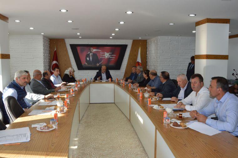 Havza Belediye Meclisinden Barış Pınar'ına Destek