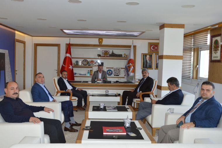 Vezirköprü Belediye Başkanı Edis'ten Başkan Özdemir'e Ziyaret