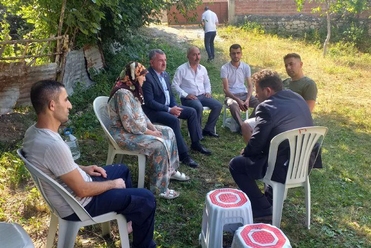 Kaymakam Yılmaz ve Başkan Özdemir'den Bayram Ziyareti
