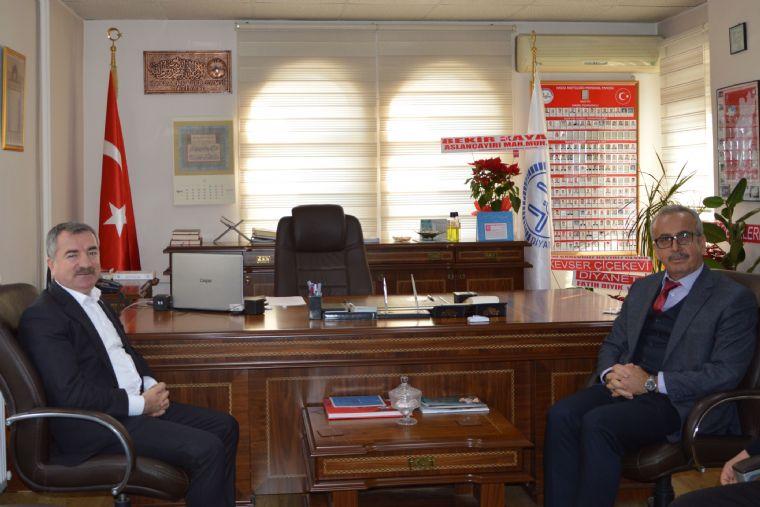 Başkan Özdemir'den Müftü Nurlu'ya Ziyaret