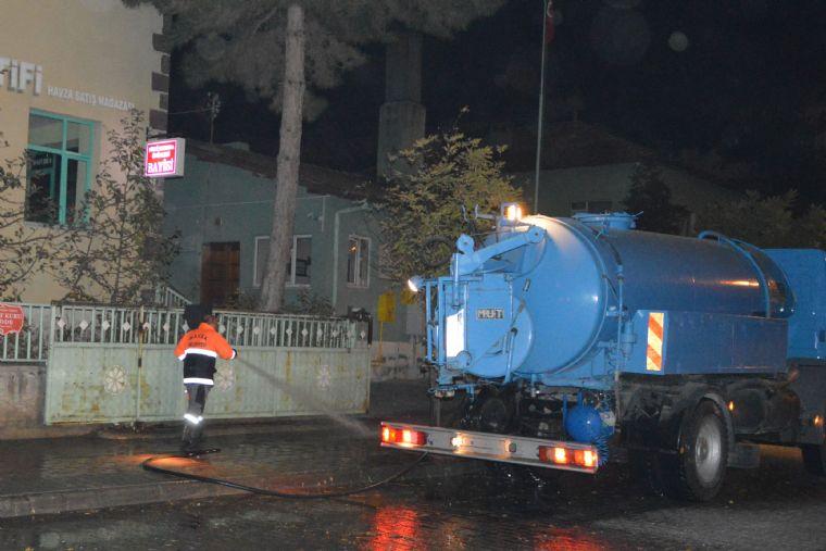 Havza Belediyesi Cadde ve Sokak Yıkama Çalışmaları