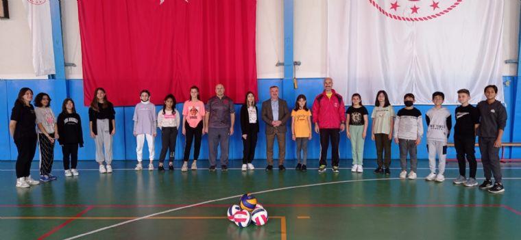 Başkan Özdemir Genç Sporcular ile Buluştu