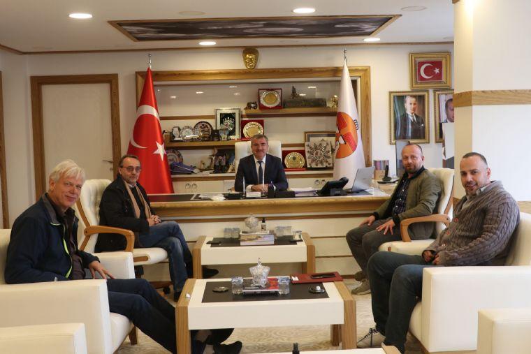 Havza Osb'ye İlave Yatırım Kararı Alan Firmadan Başkan Özdemir'e Ziyaret