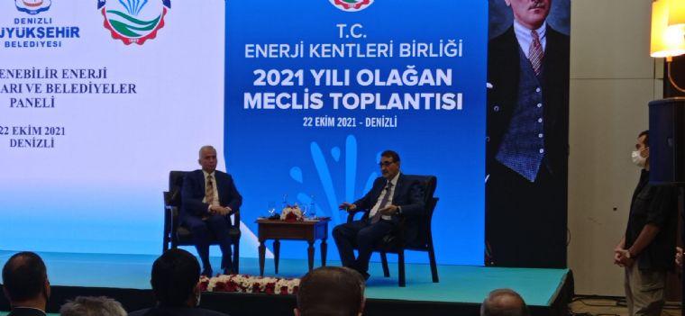 Havza Belediye Başkanı Özdemir Enerji Kentleri Birliği 2021 Meclis Toplantısına Katıldı