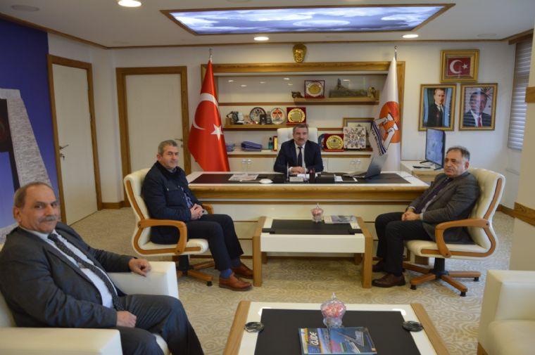 İlbank'tan Başkan Özdemir'e Ziyaret
