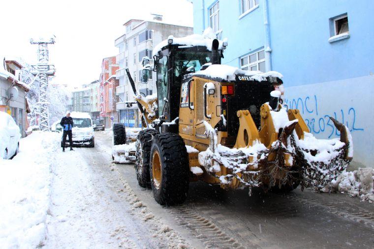 Havza Belediyesi Karla Mücadeleye Başladı