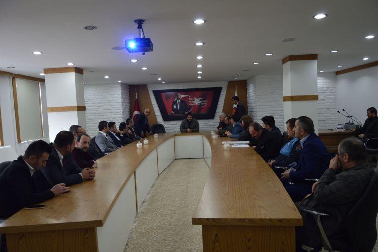 Havza Belediyesinde Personele Koronavirüs Eğitimi