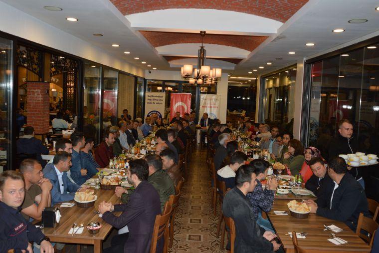 Belediye ve Özel İdare Çalışanları Birliği Sendikası ( Bem-bir-sen ) Samsun Şubesi Tarafından Havza'da İftar Yemeği Düzenledi.
