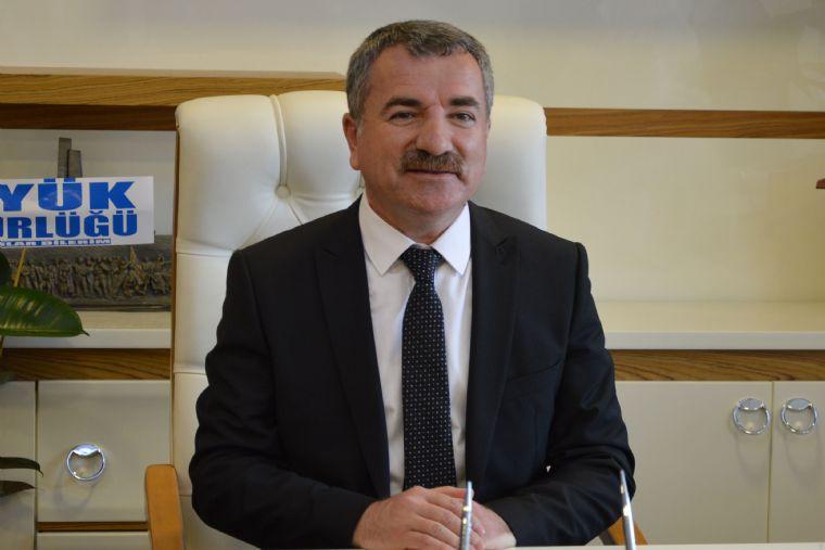 Başkan Özdemir'den 25 Mayıs Mesajı